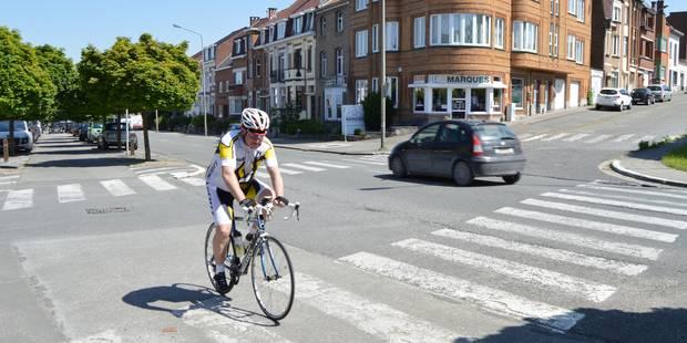 À Tournai, à vélo, on ne dépassera jamais les autos - La DH
