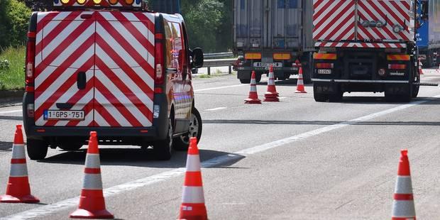 Accident impliquant trois camions sur la E34 - La DH