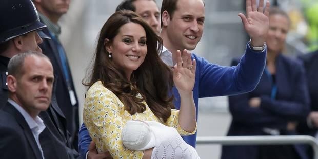 La princesse Charlotte sera baptisée le 5 juillet - La DH