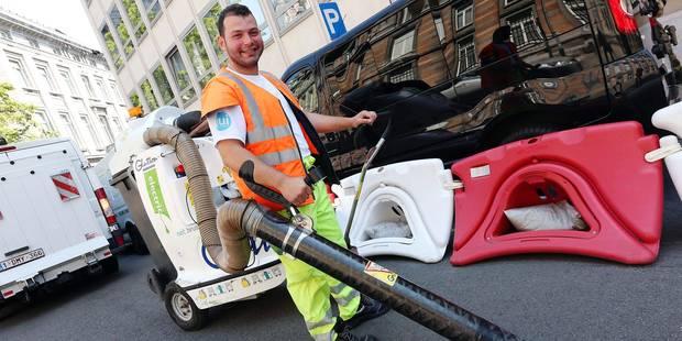 150 agents supplémentaires pour nettoyer Bruxelles - La DH