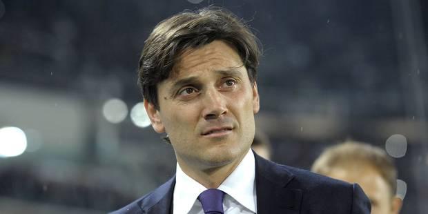 L'entraîneur de la Fiorentina Vincenzo Montella licencié - La DH