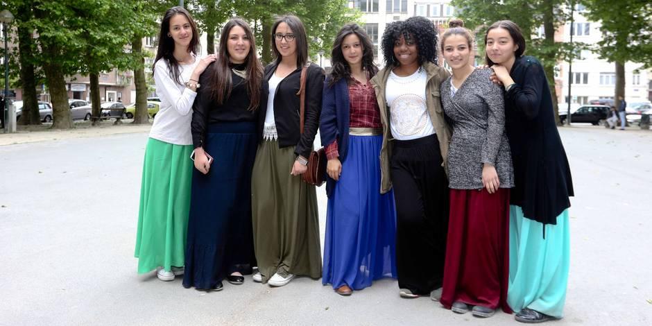 Le port des jupes longues n'est plus problématique à l'école bruxelloise De Mot-Couvreur