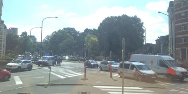Woluwe-Saint-Lambert: un colis suspect crée la panique aux abords de la station Joséphine-Charlotte (PHOTOS) - La DH