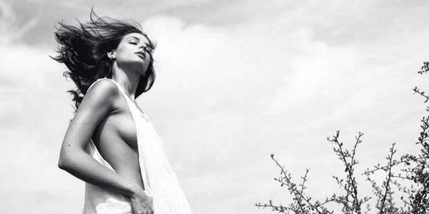 La fille de Franck Leboeuf s'affiche seins nus et fait le buzz - La DH