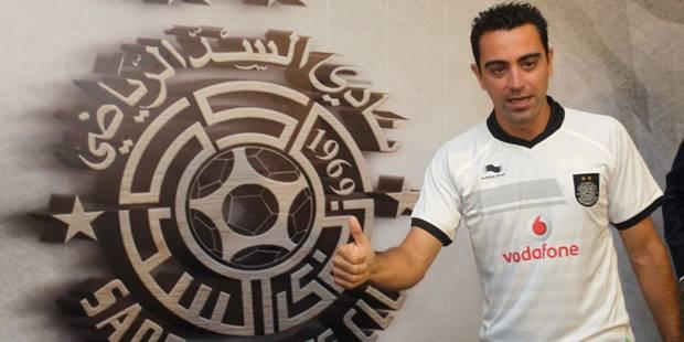 Xavi présenté par Al-Sadd ! - La DH