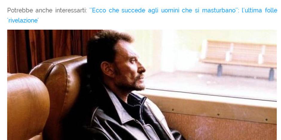 Johnny Hallyday s'est-il réellement masturbé dans un train (la réponse est non)