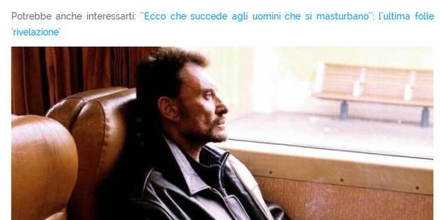 Johnny Hallyday s'est-il réellement masturbé dans un train (la réponse est non) - La DH