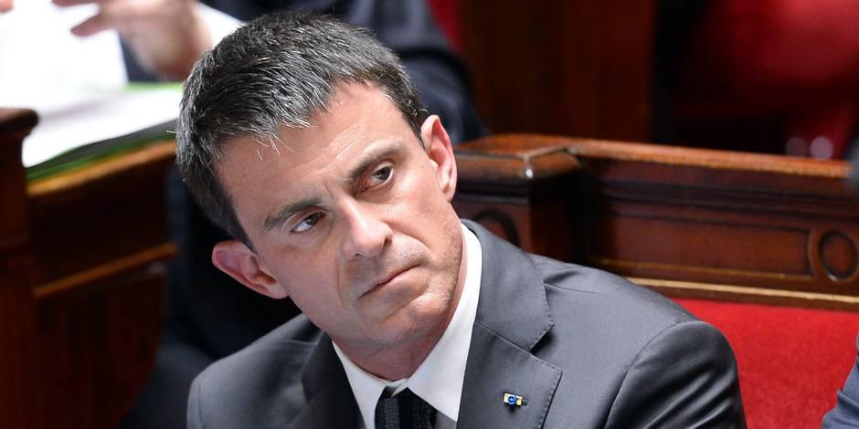 """Aller-retour à Berlin: Valls reconnaît avoir fait """"une bourde"""""""