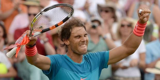 Cinq ans plus tard, Nadal remporte un titre sur gazon - La DH