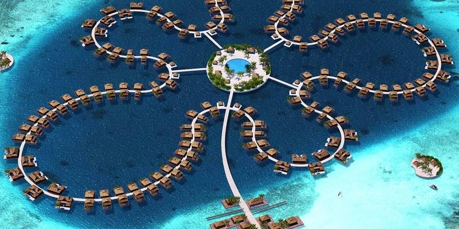 Six incroyables cités construites sur l'eau ou en projet