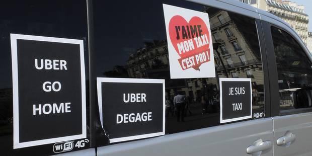 Un taximan bruxellois arrêté à Paris - La DH