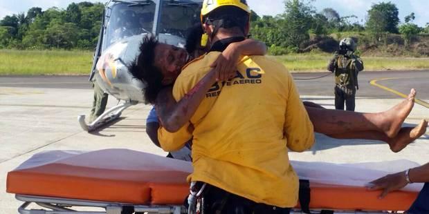 5 jours après un crash d'avion, une mère et son bébé retrouvés dans la jungle - La DH