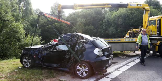 Jette: une jeune conductrice se tue en sortant du ring - La DH