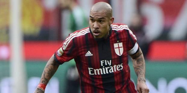 Nigel de Jong prolonge son contrat à l'AC Milan jusqu'en 2018 - La DH