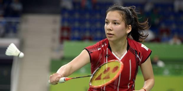 Jeux européens: la Belge Lianna Tan décroche la médaille d'argent en badminton - La DH