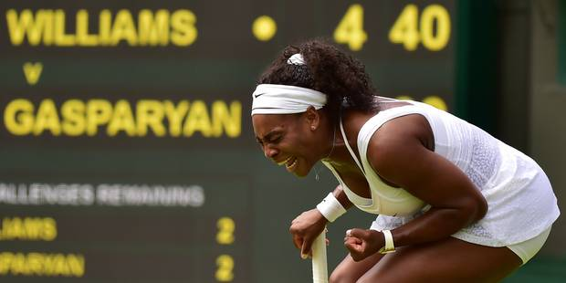 Wimbledon: Serena et Sharapova sans problèmes, une bicyclette pour Venus - La DH