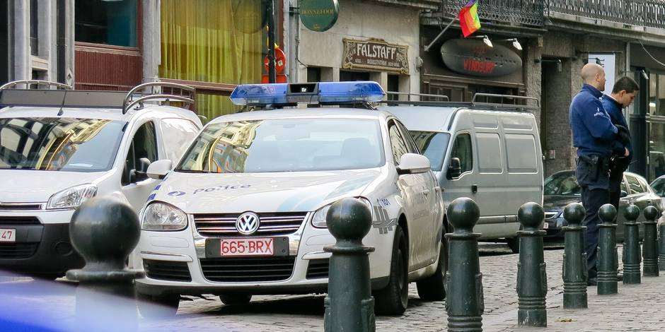 Neuf personnes intoxiquées par une fuite de CO près de la place De Brouckère à Bruxelles