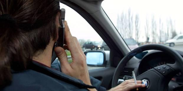 Hausse du nombre de procès-verbaux pour usage du GSM au volant - La DH