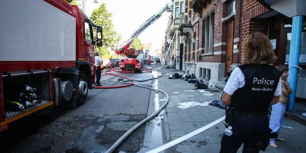 Deux intoxications dans un violent incendie à Braine-le-Château - La DH