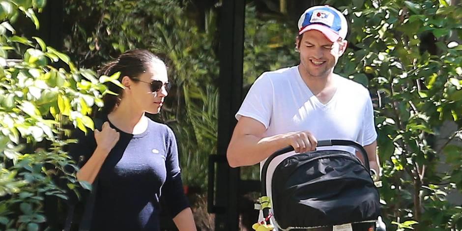 """Ashton Kutcher et Mila Kunis se sont dit """"oui"""""""
