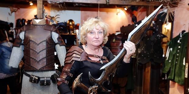 Haches, oreilles d'Elfe et casque viking - La DH