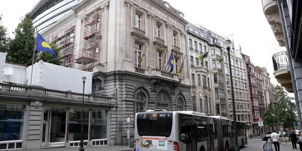 Le terminus devant le Parlement bruxellois sera déplacé - La DH