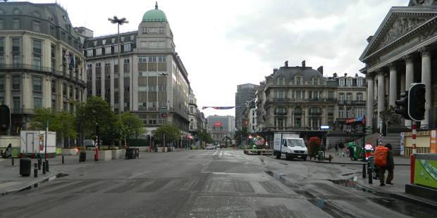 Bruxelles: la nuit, le piétonnier est un désastre... - La DH