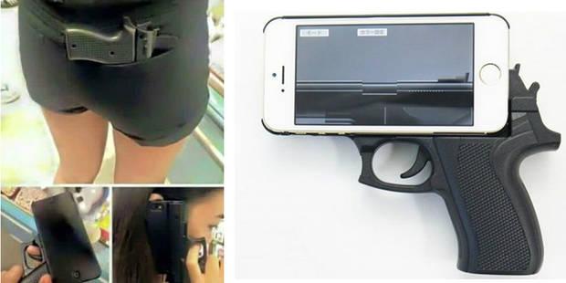 Une coque de smartphone en forme de pistolet sème la panique aux USA - La DH