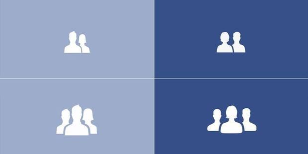 Facebook modifie ses icônes pour une meilleure égalité des sexes - La DH