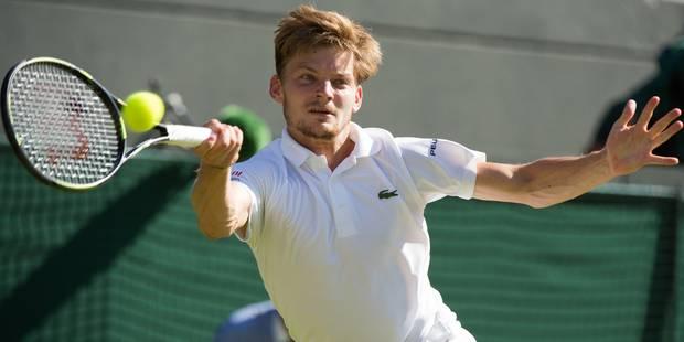 Goffin atteint son meilleur classement après Wimbledon - La DH