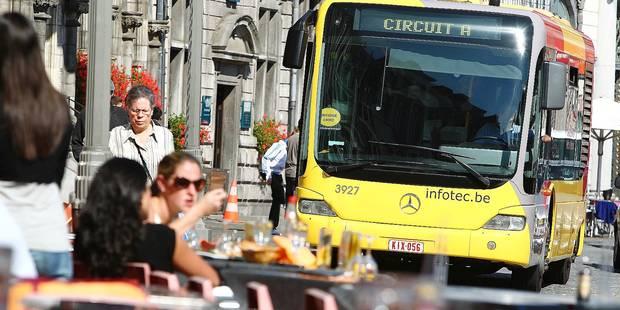 Mons: les bus gratuits dans de sales draps - La DH