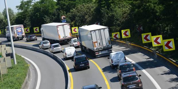 Les embouteillages sur les routes belges ont atteint un nouveau record - La DH