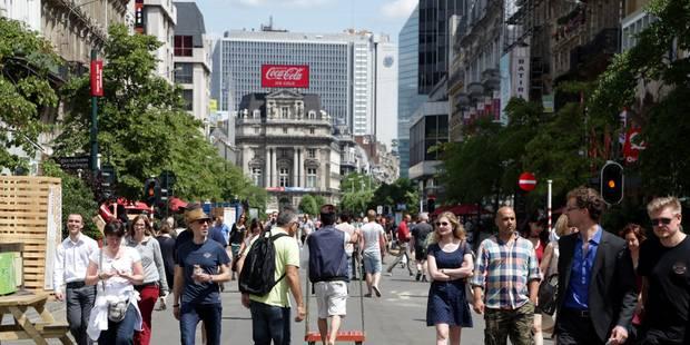 """Piétonnier de Bruxelles: La Ville concocte une """"journée de fou"""" pour les sports extrêmes - La DH"""