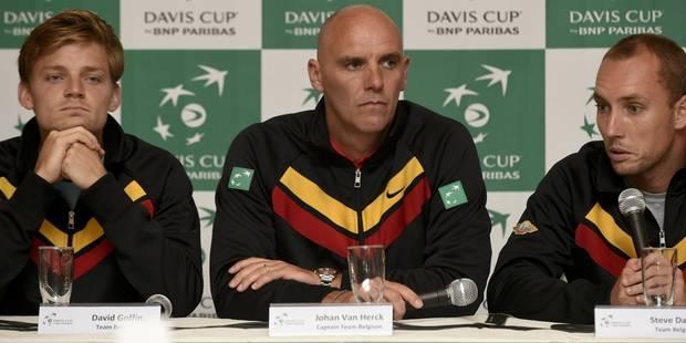 """Coupe Davis: les Belges """"prêts"""" pour affronter le Canada en favoris - La DH"""