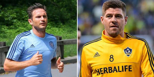 À peine arrivés, Lampard et Gerrard font déjà des jaloux en MLS - La DH