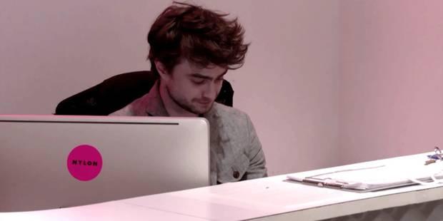 Daniel Radcliffe, cet étonnant réceptionniste - La DH