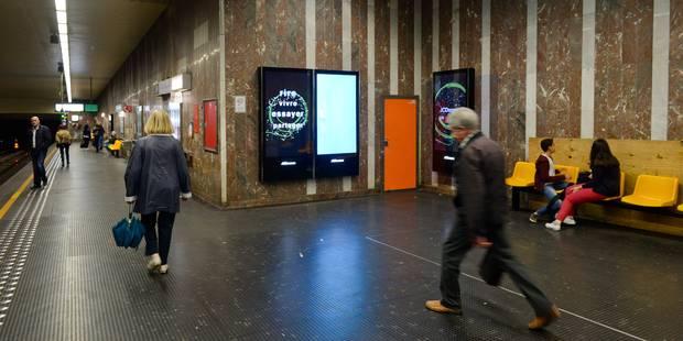 Fausse alerte à la bombe à la station Louise: la circulation des métros rétablie - La DH