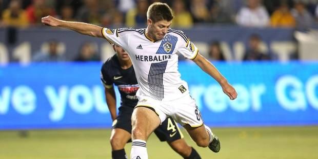 Premier match de MLS et premier but pour Steven Gerrard (VIDEO) - La DH