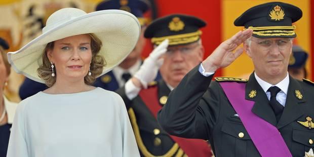 21 juillet : la famille royale a assisté au défilé militaire et civil (PHOTOS) - La DH