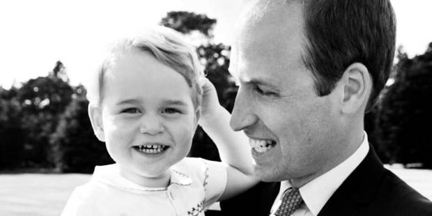 Le Prince George, 2 ans aujourd'hui et toujours aussi craquant - La DH