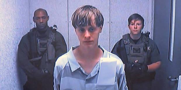 Massacre de Charleston: Dylann Roof inculpé de crimes racistes - La DH