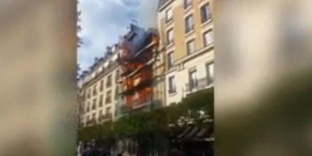 Impressionnant: un immeuble explose dans la banlieue chic de Paris (VIDEO) - La DH