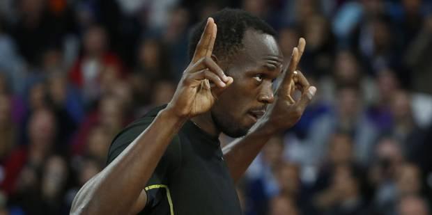 9.87 pour sa rentrée: Usain Bolt va bien, merci pour lui - La DH