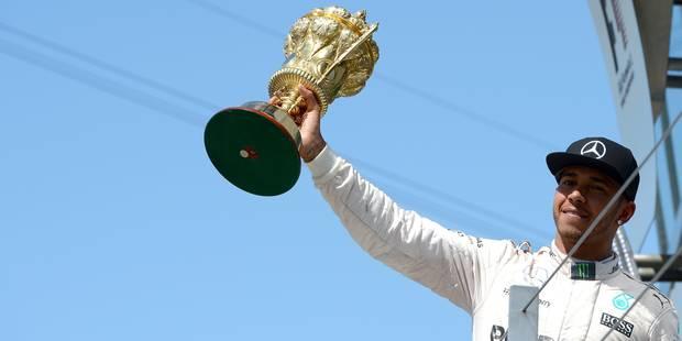 Lewis Hamilton, coeur de lion - La DH