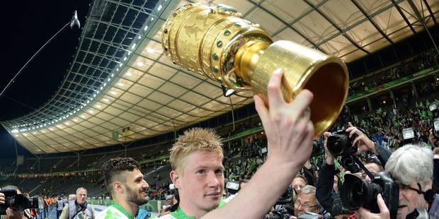 """De Bruyne sacré """"Joueur de l'année"""" en Bundesliga"""