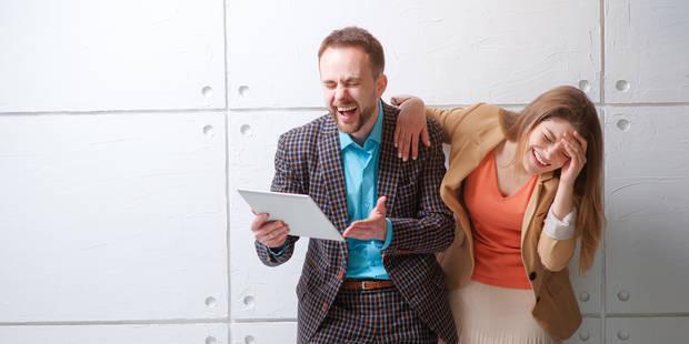 """Rire au boulot est un """"anti-stress magnifique"""" - La DH"""