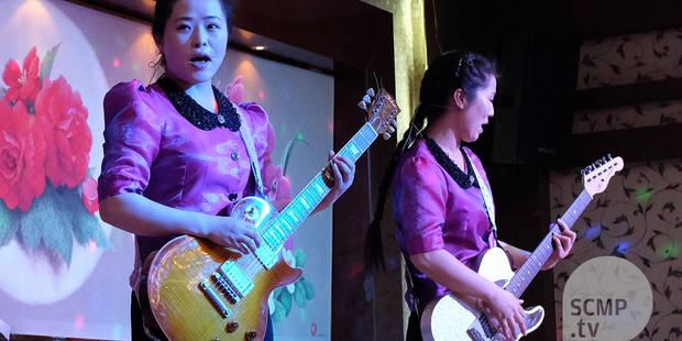 La Corée du Nord mise sur les Girls Bands pour changer son image - La DH