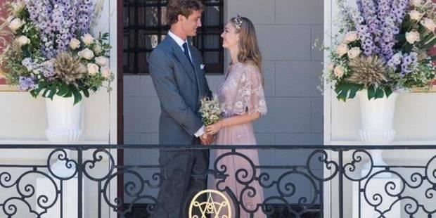 Pierre Casiraghi et Beatrice Borromeo : la mariée était en rose - La DH