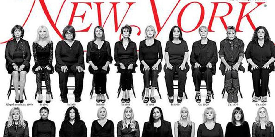 Les 35 victimes présumées de Bill Cosby posent en une d'un magazine