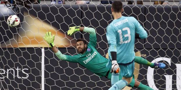 Penalty magique face au PSG: voici le secret de Thibaut Courtois - La DH